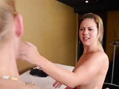 FACESLAPPING - ULTRA STRONGEST EVER! - DOMINA CLAUDIA STRONG