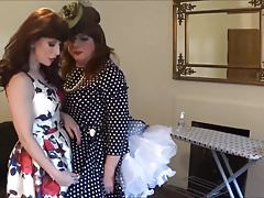 Angelica plugged and teased by Madame C