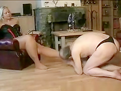 Horny Homemade record with Femdom, BBW scenes