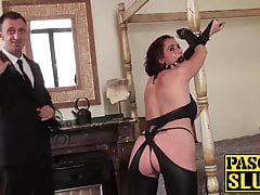 Submissive Lizzy Lovers gets dominated and fucked by Pascal