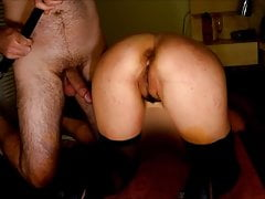 Slave  Wife Takes 50 Belt Strokes