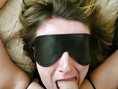 sub wife sucked fucked and splattered by husband