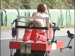 Japanese Bondage - And SQUIRTS! - Robot Race