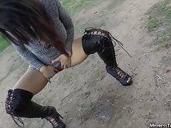 Femdom yardwaste humiliation from Mistress Tangent