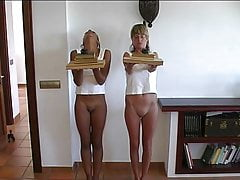 punishment of two girls