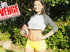 Alicia Tease & Codey Steele in A League Of Her Own - GRRevenge
