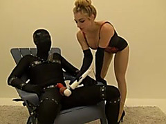 Milking chair female-dominant