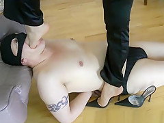 Crazy Homemade movie with Femdom, Brunette scenes