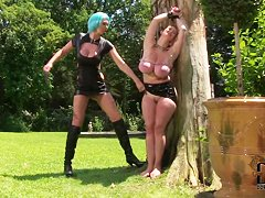 Awesome role playing of sex Leigh Darby and Vanessa