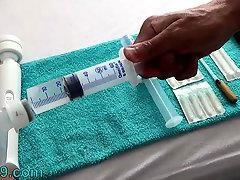 Injections into the nipple close-up - totture sex tube